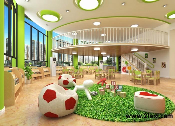 专业幼儿园装修设计公司 打造国际化高端品牌幼儿园
